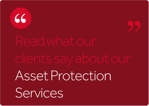 Read what our asset clients say about us